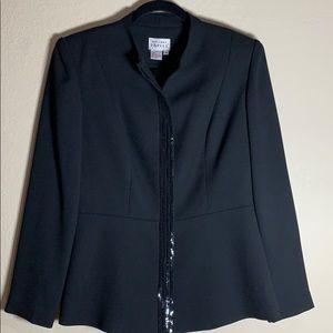 Adrianna Papell black jacket blazer